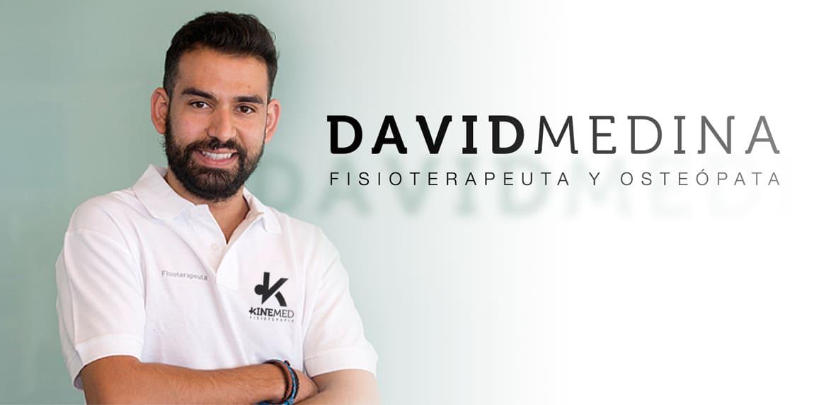 David Medina: Fisioterapeuta y Osteópata en Kinemed